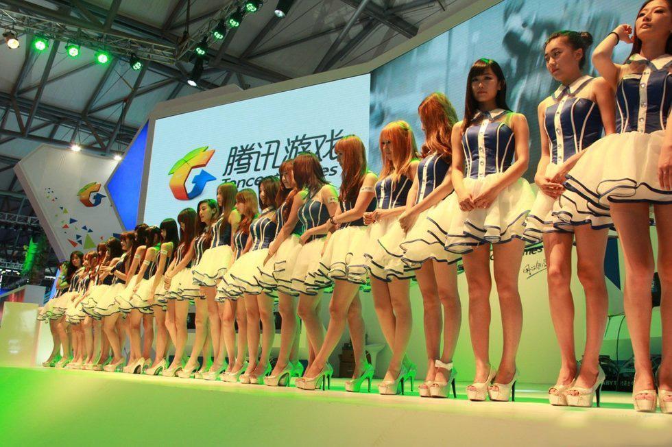 chinajoy showgirl 展会 上 那些 美腿们 手机游戏第 高清图片