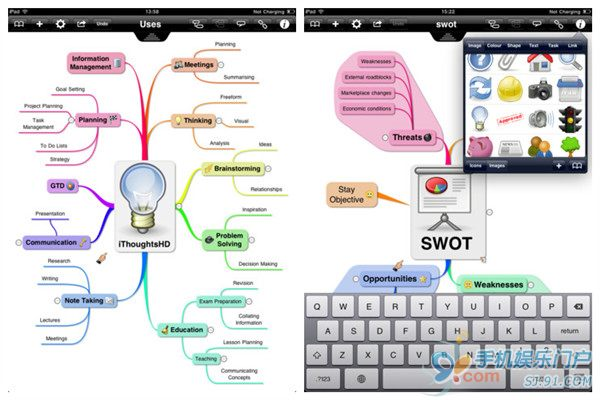 树状思维导图模板,树形思维导图模板,手绘思维导图