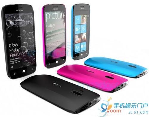 科技以换壳为本 诺基亚WP7概念手机曝光