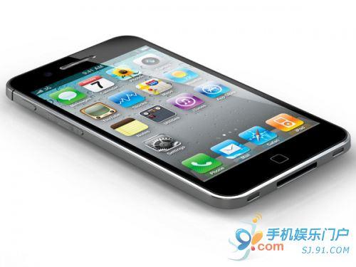 转铝合金一体外壳 iPhone 5概念图曝光 - f1.4 - F1.4
