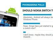 近六成用户支持诺基亚转投Android阵营